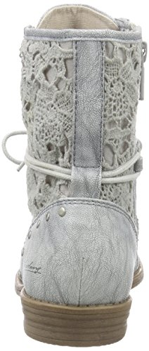 Women's 527 Short Length Silver Boots Lined 21 1157 Silber Cold Mustang Classic BnARwCx5q
