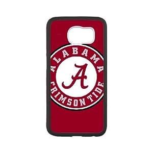 Samsung Galaxy S6 Phone Case White Alabama Crimson Tide ZBC353185