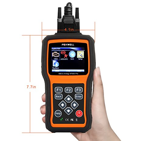 FOXWELL NT630 Scan Tool Engine / ABS / Airbag / SAS Crash Data Reset Tool  Code Reader Car Diagnostic Scanner by FOXWELL (Image #5)