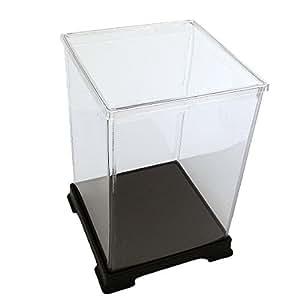 [Collection] transparent plastic case figure doll case Case W 15 x D 15 x H 40 (cm) (japan import)