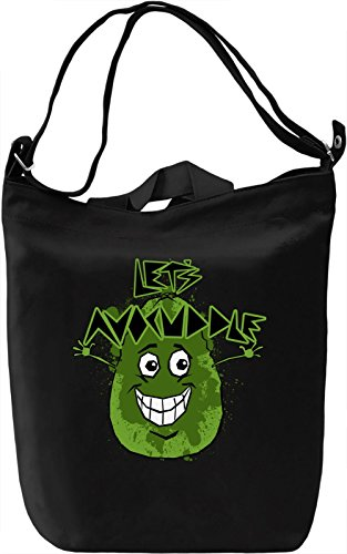 Let's Avocuddle Borsa Giornaliera Canvas Canvas Day Bag| 100% Premium Cotton Canvas| DTG Printing|