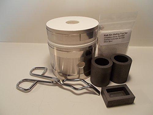 GPK Delux Kwik Kiln II Metal Melting Kit by GPK Company