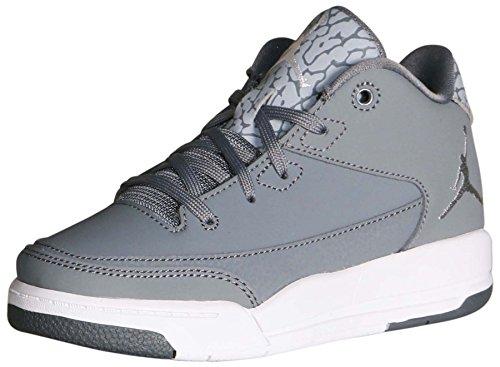 (Jordan Little Kids' Flight Origin 3 BP Shoes-CoolGrey/Mt5llcSilver-White-2.5)