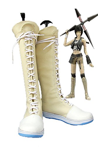 Final Fantasy VII FF7 Yuffie Kisaragi Cosplay Shoes Boots Custom Made 3