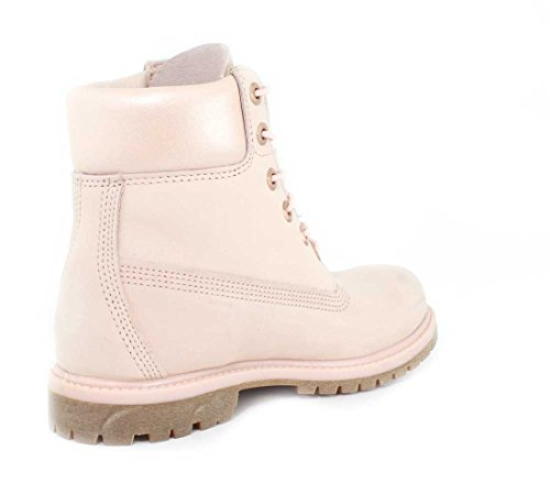 Light Donna Collar Boot Bj9 metallic Classici 6in Stivali Pink Timberland Nubuck Premium PRqwYgn0