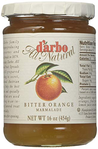 (d'arbo All Natural Bitter Orange Marmalade, 16 Ounce)