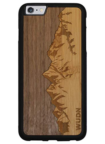 Wooden Sawtooth Mountains Walnut Compatible product image