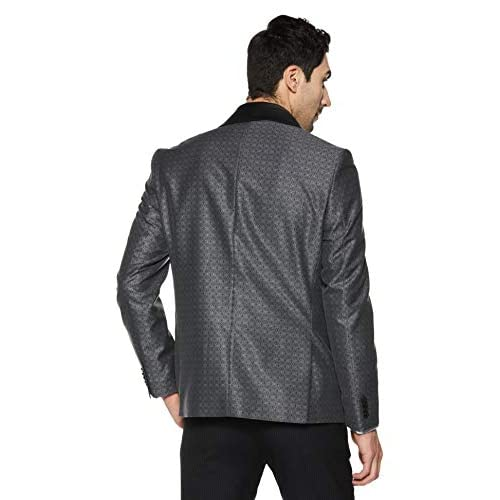 41kHH8o%2BiwL. SS500  - blackberrys Men's Shawl Collar Slim Fit Blazer