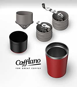 Cafflano Klassic - Portable All-in-One Coffee Brewing System