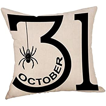 Amazon Gotd Halloween Pillows Cover Decorations Decor Halloween Enchanting Halloween Pillows Decorations