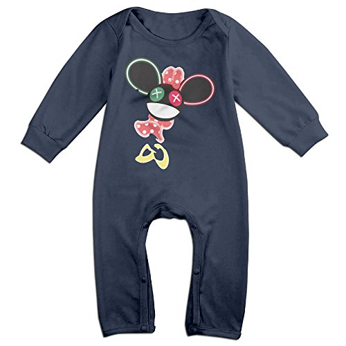 Mouse Trap Costume For Baby (Vinda Cute The Mouse Is In Da House Bodysuit For Newborn Baby Navy Size 18 Months)