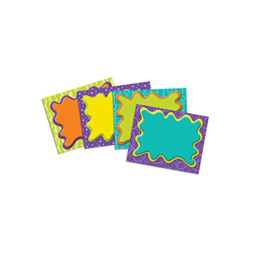 Self Stick Name Tags - Eureka Color My World Name Tags (650310)