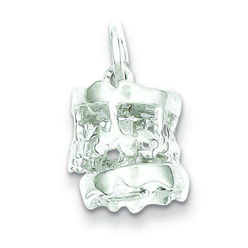 Findingking sterling silver carousel charm
