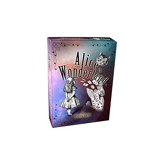 Alice in wonderland playing cards, full 54 poker-size card deck - Cards Playing Soldiers