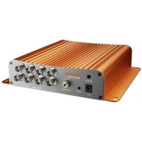 Plustek DR580N-EK1-00HD-000 nDVR 580 Barebone - Network Video Recorder - H.264, Motion JPEG Formats - 120 Fps (PlustekDR580N-EK1-00HD-000 )