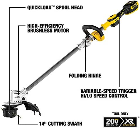 DEWALT DCKO222M1 String Trimmer Blower, Yellow Black