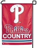 "WinCraft MLB Philadelphia Phillies Phillies Country Garden Flag, 11""x15"", Team Color"