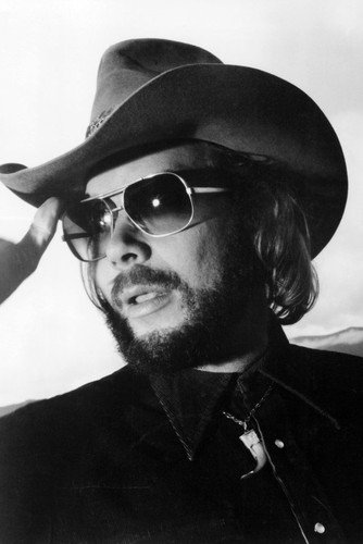 Hank Williams Jr. In Stetson and Sunglasses 24x36 Poster