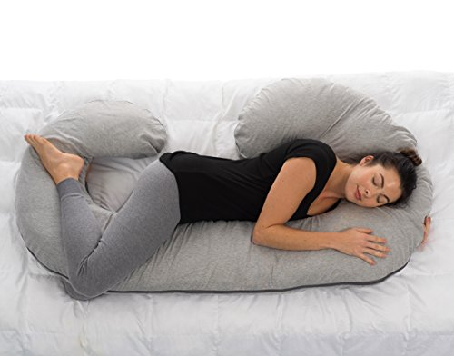 ComfySure Full Body Pregnancy Pillow - Hypoallergenic Maternity Support Cushion...