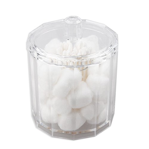 BangQiao Cotton Ball and Swab Holder,Clear