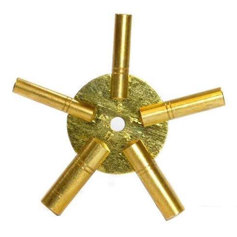 brass clock numbers - 4