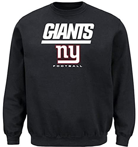 8bcce051f Image Unavailable. Image not available for. Color  New York Giants NFL Men s  Critical Victory Crewneck Sweatshirt Big   Tall Sizes ...