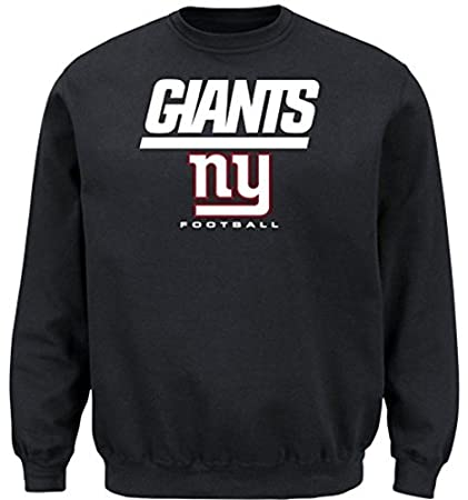 8a444c2e20a Image Unavailable. Image not available for. Color  New York Giants NFL  Men s Critical Victory Crewneck ...
