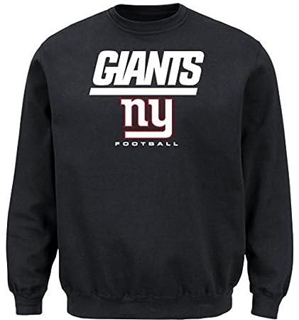 b0046d42 Amazon.com : New York Giants NFL Men's Critical Victory Crewneck ...