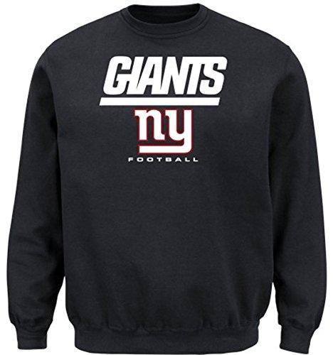 New York Giants NFL Men's Critical Victory Crewneck Sweatshirt Big & Tall Sizes (3XT)