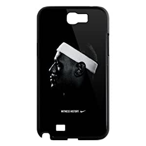 NBA Miami Heat LeBron James Galaxy Note 2 Case Hard Plastic LeBron James #6 SamSung Galaxy Note 2 N7100 Cover