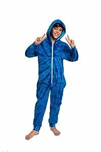 Colortone Tie Dye Zip Up Onesie Unisex All in One Pajamas