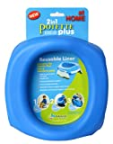 Kalencom Potette Plus At Home Reusable Liners, Blue: more info