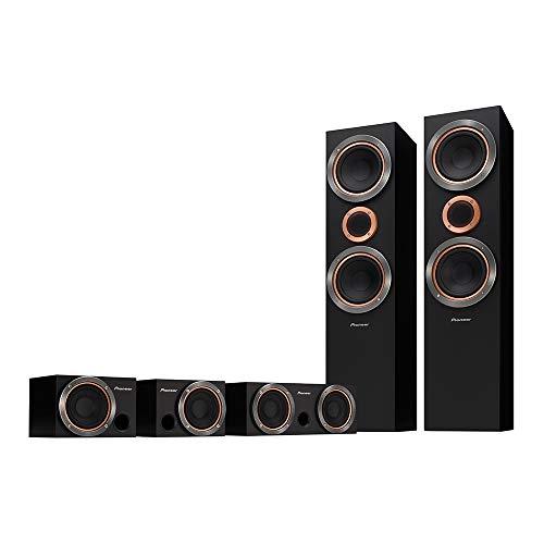 Kit de Caixas de Som Acústicas 150W 8 ohms, Pioneer, S-RS55TB
