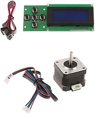 Motor de Pasos de Impresora 3D Nema17 con 2004 LCD Módulo de ...