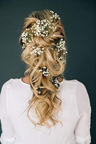 3 Haarnadeln Blumen Braut Kommunion Dirndl Oktoberfest Boho ivory creme