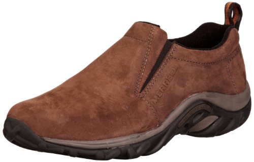Merrell Men's Jungle Moc Nubuck Slip-On Shoe,Brown Nubuck,9 2E US