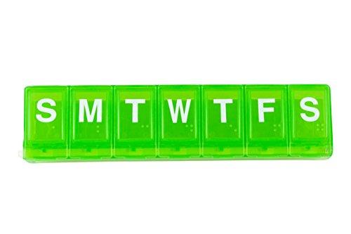 Ezy-Dose 7-Day Locking Pill Reminder Large, 3-Pack