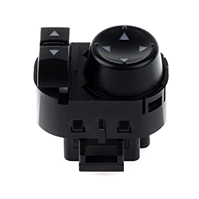 Power Mirror Switch Replacement fit for 2007-2013 Chevy Silverado 1500 2007-2014 Chevy Silverado 2500 HD 2007-2013 GMC Sierra 1500 2007-2014 GMC Sierra 2500 HD 3500 22883768: Automotive