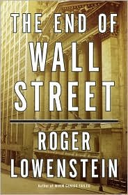 Books : The End of Wall Street 1st (first) edition Text Only