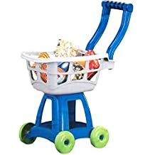 My Very Own Market Cart Set 6 Piece Toy Shopping Cart by American Plastic Toys Inc