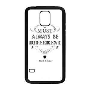 Samsung Galaxy S5 Cell Phone Case Black must always be different SLI_503208