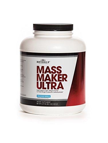 Beverly International Mass Maker Ultra Vanilla, 23 servings. Strongmen and mass monsters swear by this lean weight gainer. by Beverly International