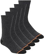 Weatherproof mens 5 Pack Full Terry Thermal Crew Socks