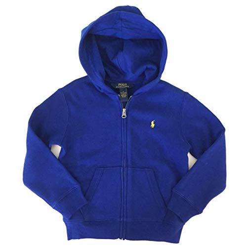 Ralph Lauren Polo Boys Blue Classic Full Zip Hoodie Sweatshirt (5)