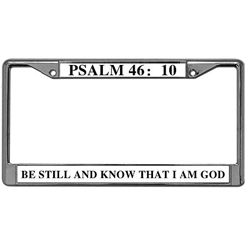 Deals On Bible Verse License Plate Frame Up To 78 Hanutt