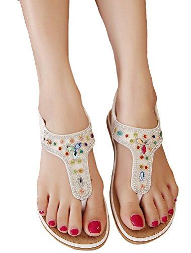 MatchLife - zapatos y sandalias mujer - Style3-White