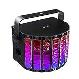 RXY-(^_^) 9 Color LED Butterfly Light Mini Stepless Sword Sound Control Stage Lighting Bar KTV Laser Light Flash