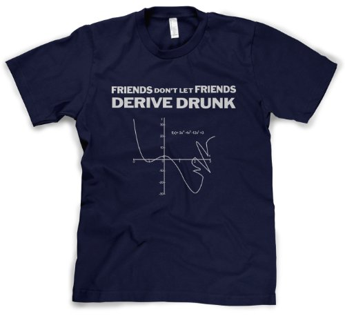 Don't Drink and Derive Math T-Shirt