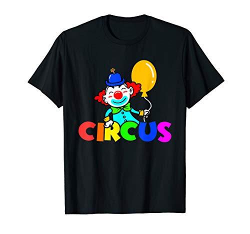 Circus Clown Costume Carnival T-Shirt -