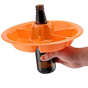 The Go Plate 10 Pack - Orange - Reusable Food & Beverage Holder